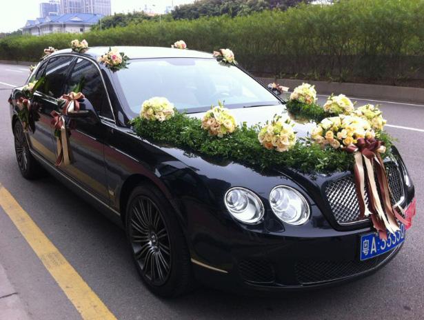 宾利婚礼花车